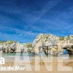 playa de cuevas de mar llanes
